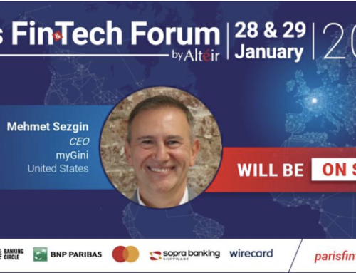 myGini in Fintech Forum Paris